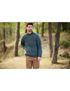 Modèle de Pull Scotch Tweed