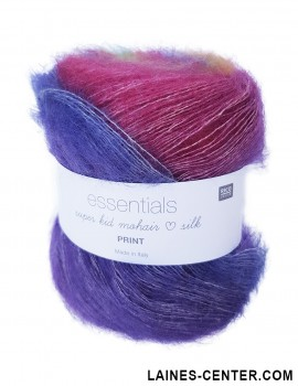 Essentials Super Kid Mohair Loves Silk Print 001