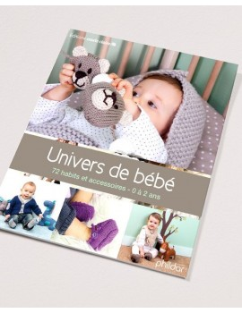 Catalogue Phildar N°830 : Univers de bébé
