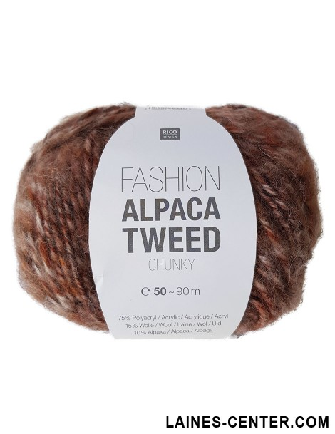 Fashion Alpaca Tweed Chunky 002