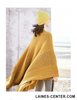 Modèle de Poncho Fashion Alpaca Dream